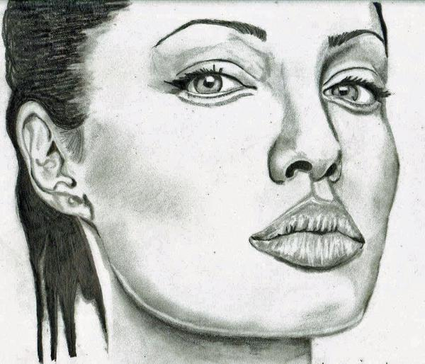 Angelina Jolie by CocoaTheArtist